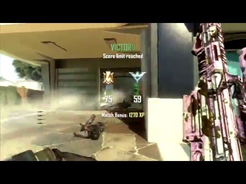 Solo Nuketown XPR-50 Quad Feed Killcam on TDM!!