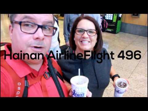 Hainan Flight 496 Seattle to Beijing Oct 2016