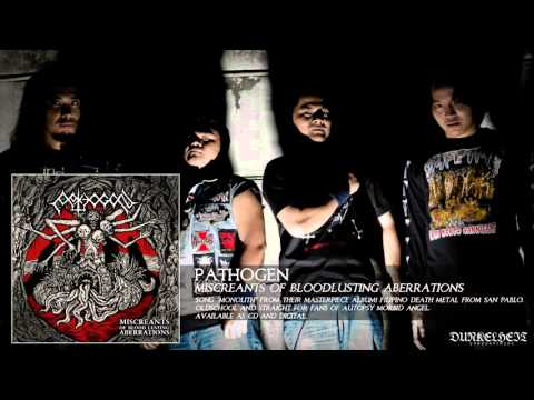 Pathogen - Monolith (Miscreants of Bloodlusting Aberrations, Album) Death Metal from Philippines!