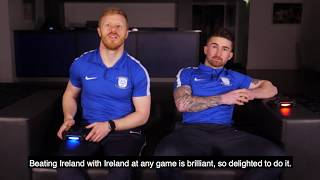 FIFA 18: Seani Maguire and Daryl Horgan Ireland Battle