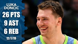 Luka Doncic ties Michael Jordan in consecutive 20-5-5 games  | 2019-20 NBA Highlights