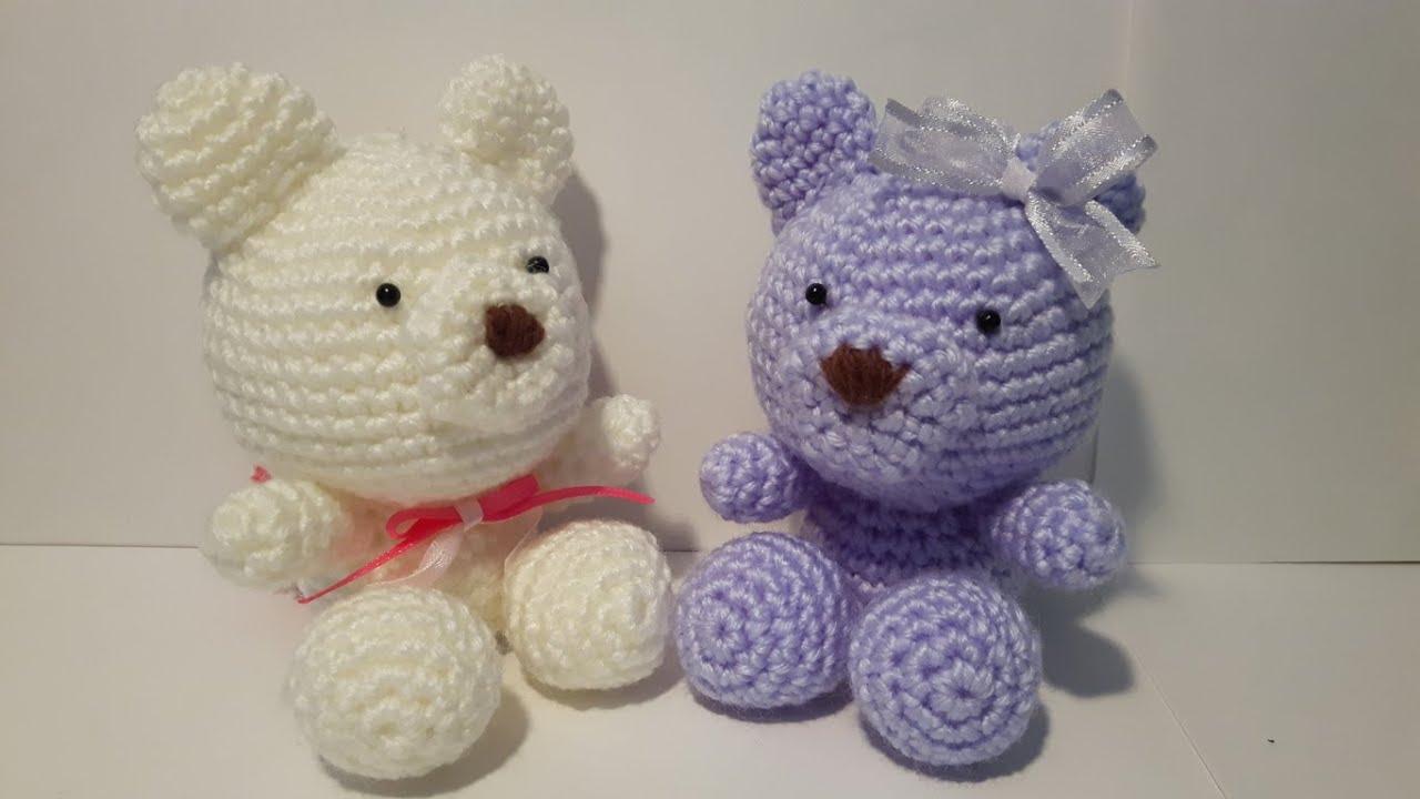 Orso Uncinetto Amigurumi Tutorial Bear Crochet Osito Crochet