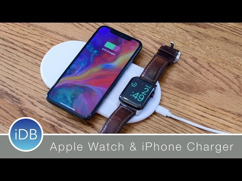 Funxim Qi Wireless Charger Powers Your IPhone & Apple Watch