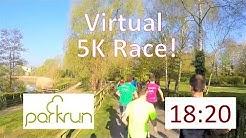 Parkrun UK - Full 5K Race - Sub 19 Minute Virtual Run
