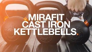 Mirafit Cast Iron Kettlebells
