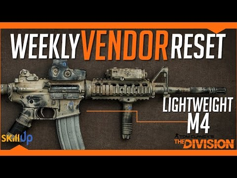 The Division | AMAZING Weekly Vendor Reset Week (11th March) Feat. The Long Awaited M4...