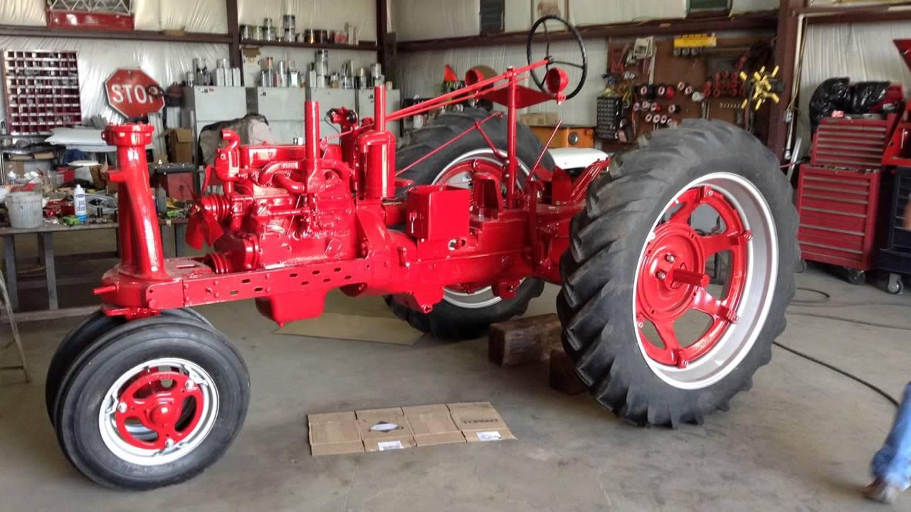Restored Ih Tractors : Mccormick farmall tractor restoration smith