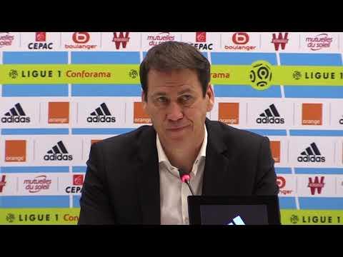 La réaction de Rudi Garcia après OM - Strasbourg (2-0)
