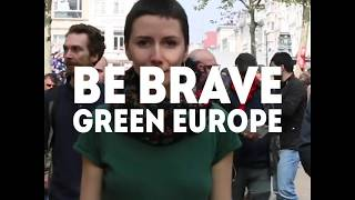 On 23-26 May, we choose our future and stand up to authorities that have not kept their promises.  All across Europe, brave young people are fighting for climate action, social justice and women*s rights.  We are here and we are not going anywhere. We vote.  Find out how to vote in the European elections here: https://www.european-elections.eu/  Be Brave, Green Europe❗