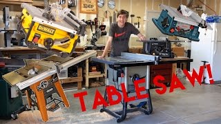 which table saw should you buy? lets talk tools
