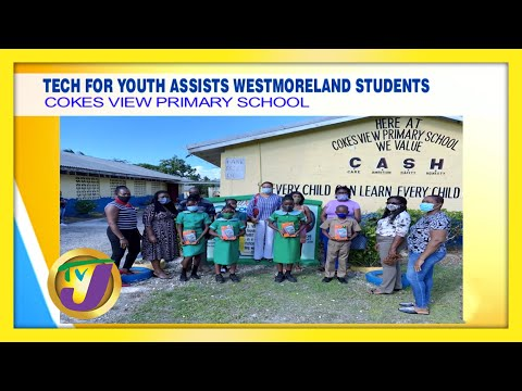 Tech for Youth Assists Westmoreland Students in Jamaica | TVJ Smile Jamaica