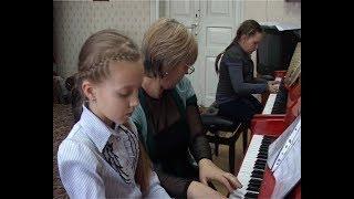 Шадринская детская музыкальная школа одна из лучших в стране (исторические кадры 2000г.)
