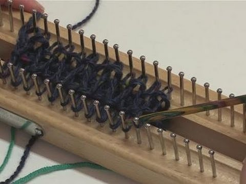 How To Knit With A Knitting Board