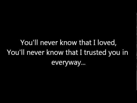 Lawson - You'll Never Know Lyrics - YouTube
