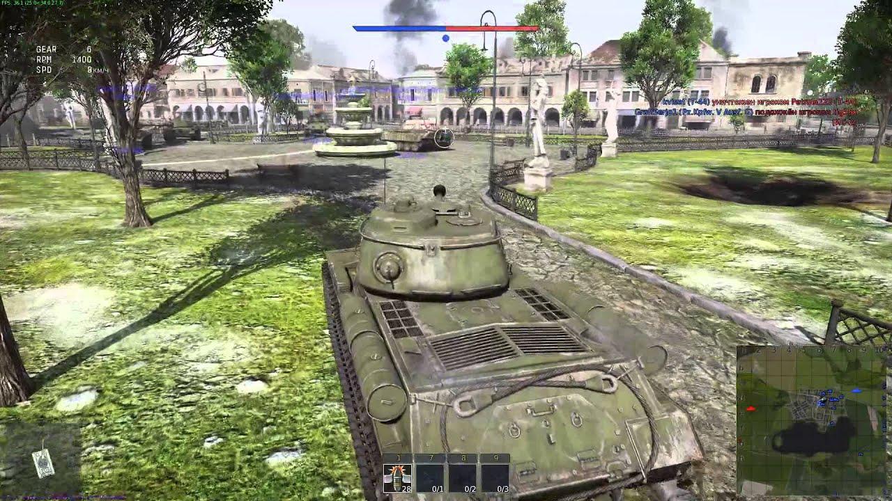 War Thunder обзор на карту польша Youtube