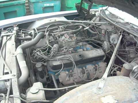 472 cc Cadillac Engine running - YouTube