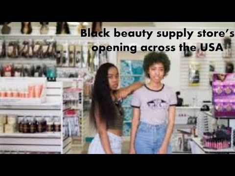 Afro Beauty Supply Store's Opening across the USA