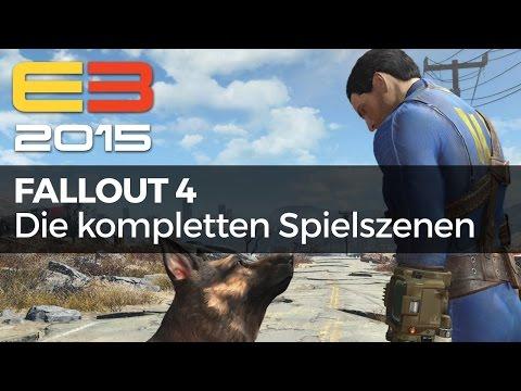 Fallout 4 - Alle E3-Gameplayszenen im Zusammenschnitt