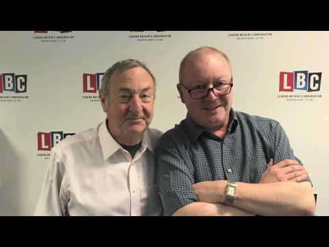 Nick Mason interview on LBC talking about Pink Floyd tribute bands