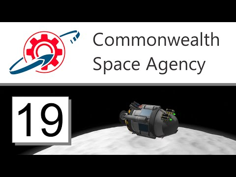 Kerbal Commonwealth Space Agency - 19. Robo-Boots on the Mün (KSP 1.0.5)