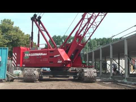 Assembly of the CD20 building construction system HD 1080p