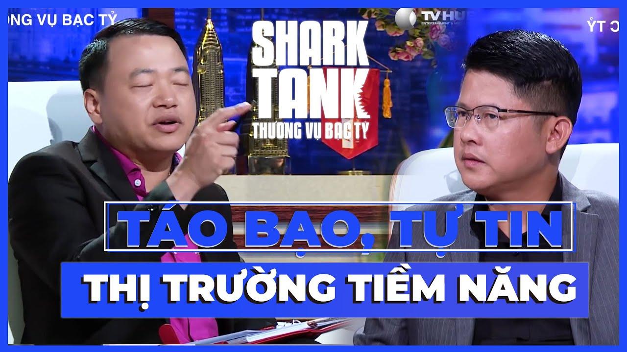Startup Táo Bạo, Tự Tin Với Thị Trường Tiềm Năng Chưa Khai Thác | @Shark Tank Vietnam Sub CHIẾU LẠI