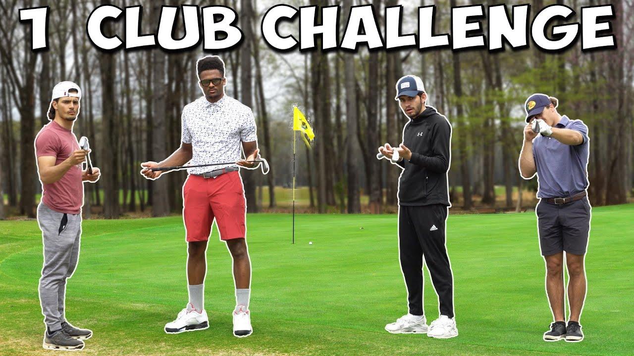 1 Club Per Hole  - $50 Challenge