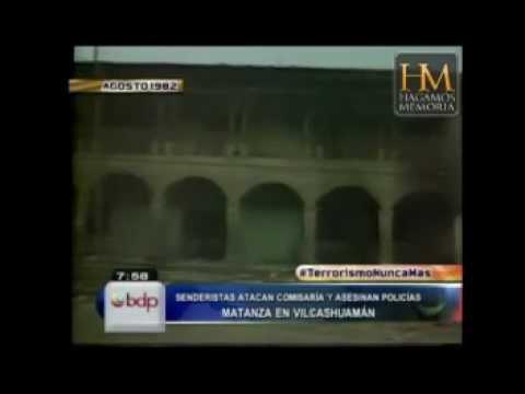 TERRORISTAS matan 7 policías en Vilcashuamán y dinamitan la Municipalidad - Perú 1982