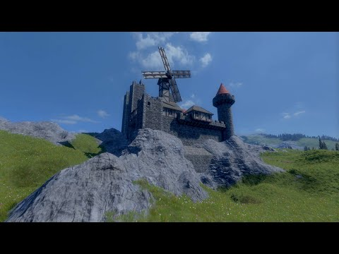 Medieval Engineers | Destroying A Castle With Cannon Balls