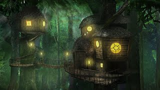 Forest Rain Sounds - Relaxing Rainforest White Noise with Nature Sounds at Night for Sleeping, Study