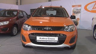 Lada Kalina Cross (2018) Exterior and Interior