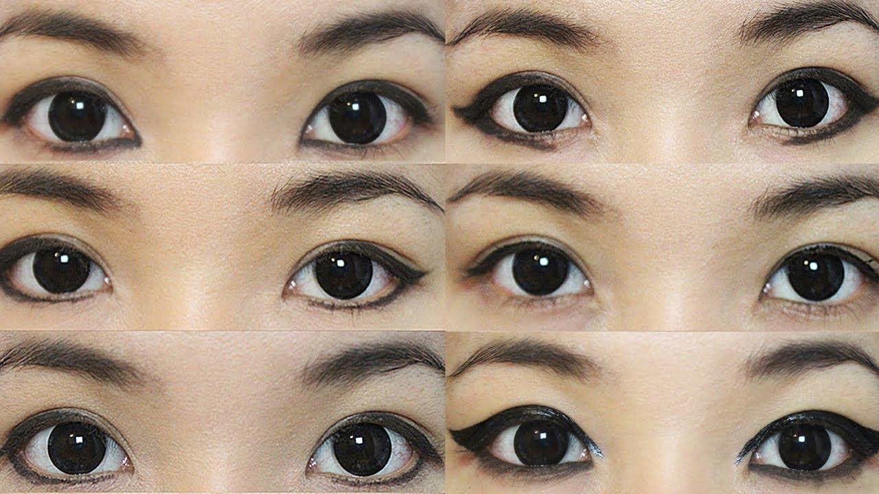 19 Eyeliner Styles to Change Your Eyeshape - YouTube