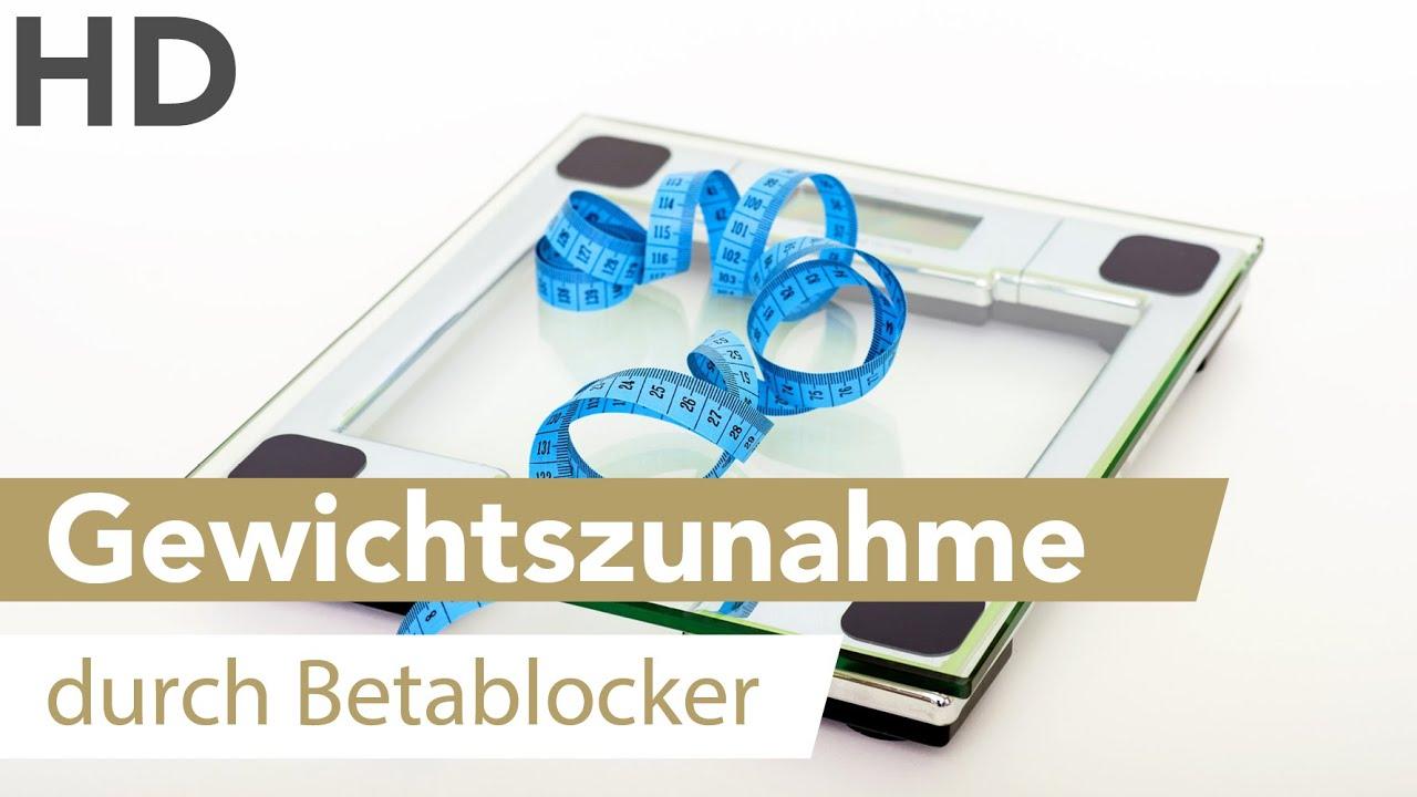 Betablocker Gewichtszunahme