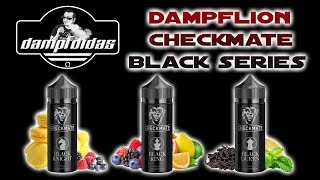 Checkmate Black Aromen by DAMPFLION - Black Knight - Black Queen - Black King REVIEW