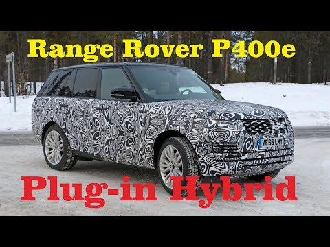 2019 Range Rover Sport P400e - Land Rover with Plug in Hybrid for the Trails - Broom Car