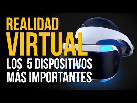REALIDAD VIRTUAL: Los 5 DISPOSITIVOS más IMPORTANTES - Oculus Rift, HTC Vive, Project Morpheus...