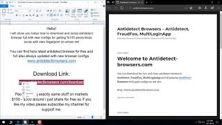 Antidetect Browser 7 3 Full with 4000 New Browser Configs 2018