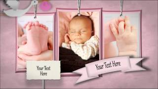 Baby Shadowbox Show | VideoHive Templates | After Effects Project Files