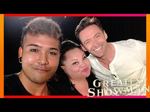 Hugh Jackman & Keala Settle Interview In London | The Greatest Showman