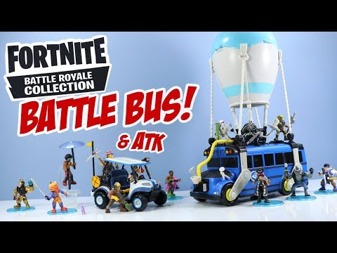 Fortnite Toys Battle Bus And ATK Battle Royale Collection Moose Toys