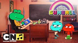 Karaoke ♫ Niesamowity świat Gumballa ♫ Wrzuć na luz i usiądź ♫ Cartoon Network