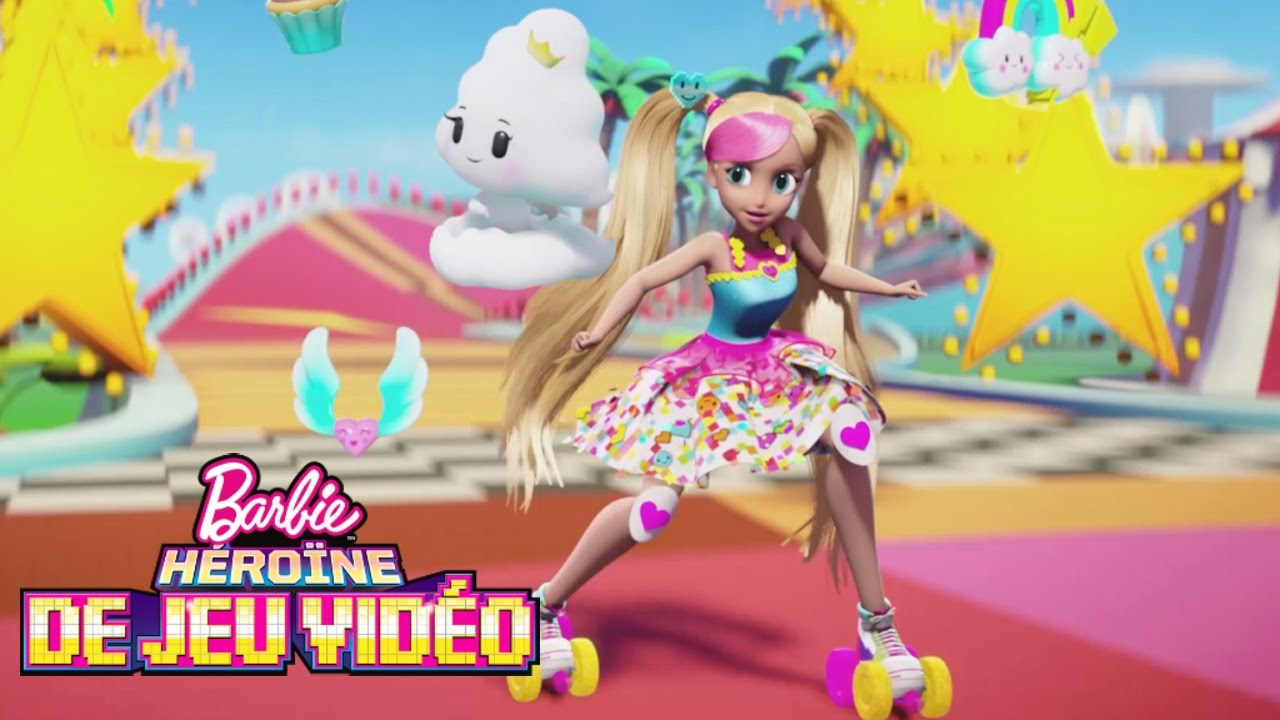 bande annonce du film barbie h ro ne de jeu vid o barbie youtube