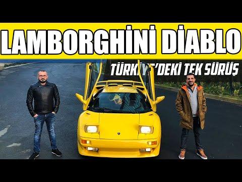 Doğan Kabak | Lamborghini Diablo | Türkiye'deki İlk Sürüş