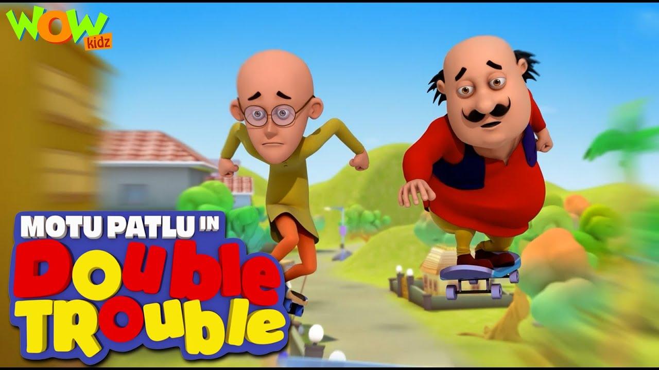 Download MOTU PATLU movies for KIDS   Motu Patlu Double Trouble   Full Movie   Wow Kidz
