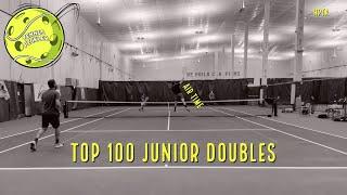 Top 100 Junior Tennis Doubles Match