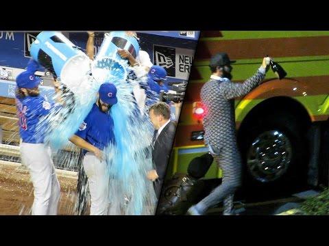 Cubs Jake Arrieta No-Hitter Celebration & Pajamas