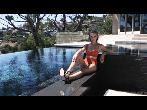 Brianne Howey in the Hollywood Hills