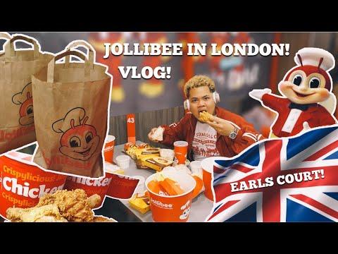 8 HOUR QUEUE! JOLLIBEE LONDON! WAITED 8 HOURS FOR JOLLIBEE!! FIRST JOLLIBE! VLOG! JOLLIBEE UK!!