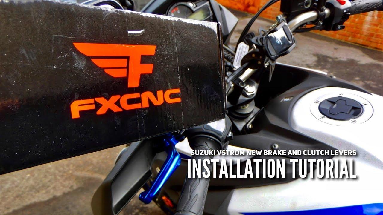 2019 #SuzukiVstrom 650 XT Brake And Clutch levers Installation Tutorial #Dl650XT