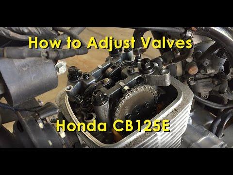 How to Adjust Valves: On a Honda CB125E
